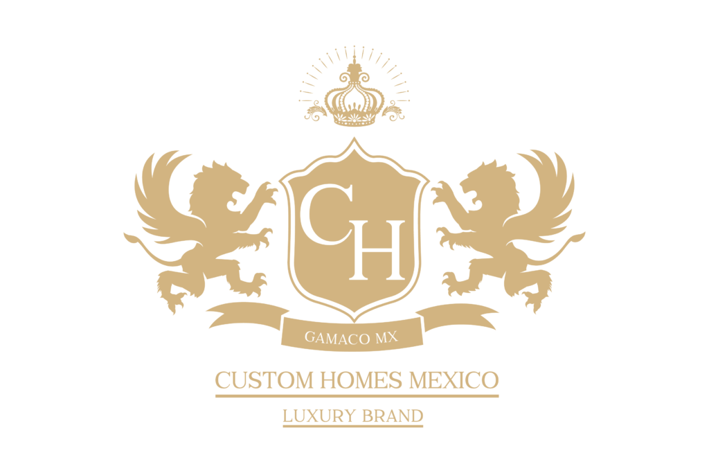 custom homes Mexico logo